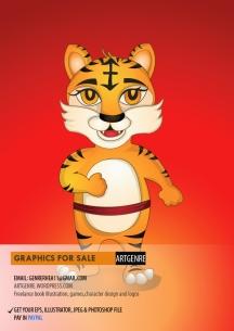 01 tiger character