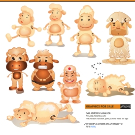 02 Character sheep 05