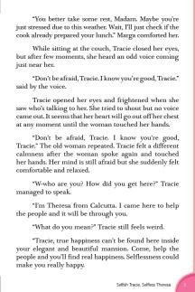 Selfish Tracie, Selfless Theresa5