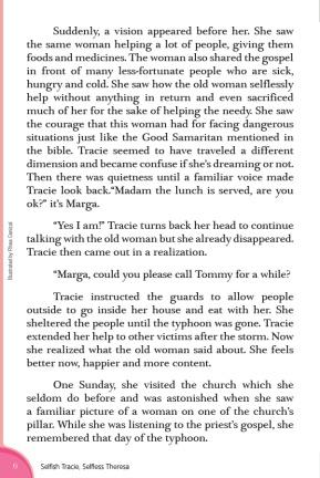 Selfish Tracie, Selfless Theresa6